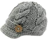 Bestknit Baby Boys Crochet Knit Newsboy cap Photography Brim Buttons Hat