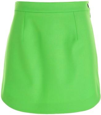 ATTICO High-Waisted Mini Skirt