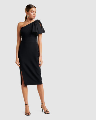 Forever New Bessy One Shoulder Bow Dress