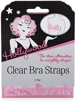 Hollywood Fashion Secrets Clear Bra Straps, 2 pairs