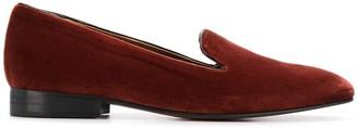 L'Autre Chose City velvet loafers