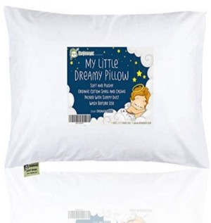 KeaBabies Toddler Pillow with Pillowcase