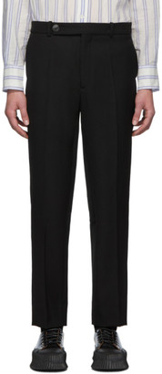 Namacheko Black Cavalry Twill Shil Trousers
