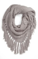 BP Women's Cable Knit Triangle Scarf