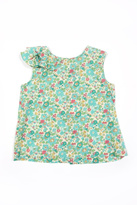 Peas and Queues Elsie Ruffle Top