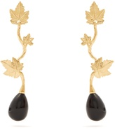 Aurelie Bidermann Vitis gold-plated drop earrings