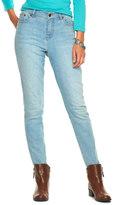 Chaps Petite Curvy Fit Straight-Leg Jeans