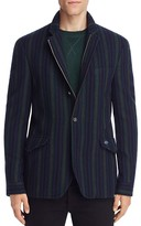Scotch & Soda Vertical Stripe Slim Fit Blazer