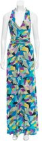 Etro Abstract Maxi Dress
