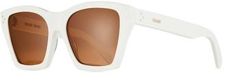 Celine Square Acetate Polarized Sunglasses