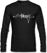 MVWAPOD Men Billabong Script Platinum Style T-shirts