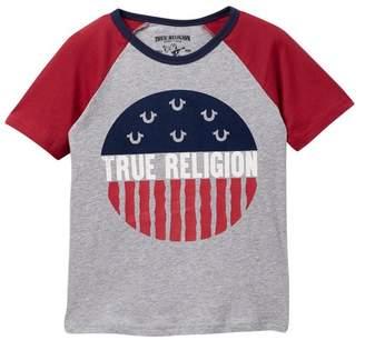 True Religion Raglan T-Shirt (Toddler Boys & Little Boys)