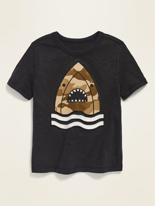 Old Navy Visual-Effects Graphic Slub-Knit Tee for Toddler Boys