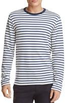 Todd Snyder Shore Stripe Crewneck Sweatshirt