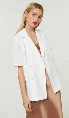 Jovonna London White Darra Jacket - XS