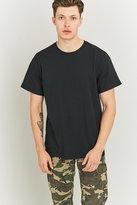 Uo Black Oversized Skate T-shirt