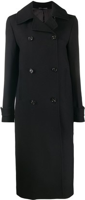 Paul Smith Double-Breasted Midi Coat