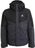 Salomon Stormseeker Ski Jacket Asphalt/black