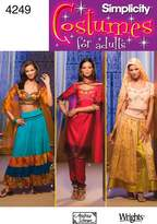 Simplicity Sewing Pattern 4249 Misses' Costumes