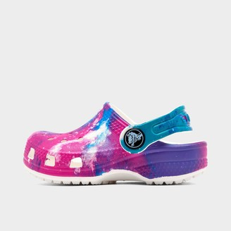 Crocs Girls' Toddler Classic Out of This World Clog Shoes