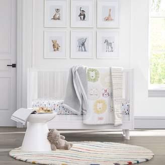 west elm Sloan Acrylic Convertible Crib - White