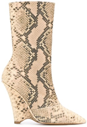 Yeezy wedge ankle boots