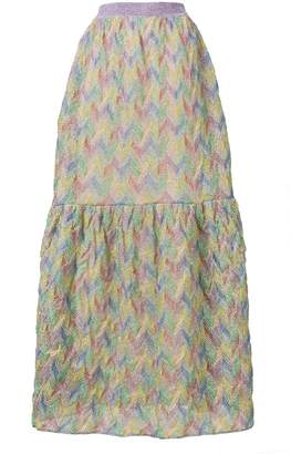 Missoni Patterned Maxi Skirt