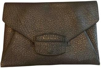 Givenchy Antigona Metallic Leather Clutch bags