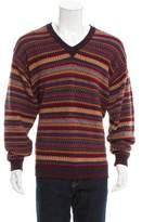 Tumi Striped Alpaca Sweater