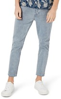 Topman Men's Stretch Slim Fit Crop Jeans