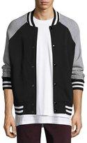 Rag & Bone Arden Varsity Jacket, Black/Gray
