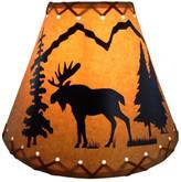 """Reel Lamps 12"""" Diameter Moose Shade"""