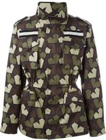 Ports 1961 star camouflage jacket - men - Cotton/Spandex/Elastane/Nylon/Cupro - 46