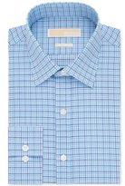 Michael Kors Men's Slim Fit Gingham Dress Shirt