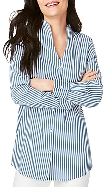 Foxcroft Cena Non-Iron Striped Top