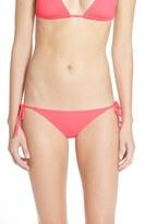 Becca Women's 'Color Code' Side Tie Bikini Bottoms