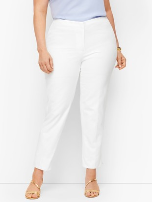 Talbots Plus Size Exclusive Biscay Slim Ankle Pants