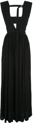 Proenza Schouler sleeveless V-neck maxi dress