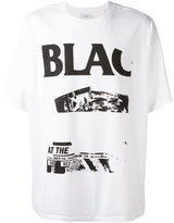 Facetasm Black Flag T-shirt - men - Cotton - One Size