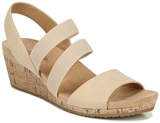 LifeStride Marina Cork Wedge Sandal