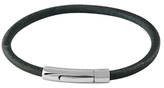 Tateossian Smooth Leather Bracelet