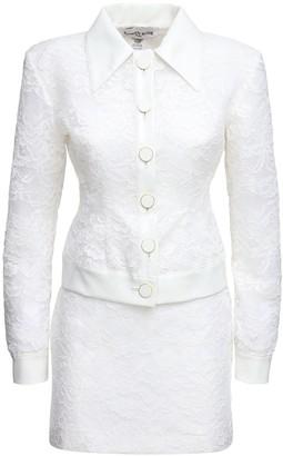 ROWEN ROSE Lvr Exclusive Lace & Vinyl Bridal Suit