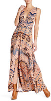 Free People Sleeveless Print Maxi Dress