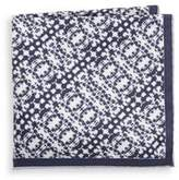 hook + ALBERT State Silk Pocket Square