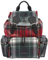 Burberry The Rucksack Nylon Backpack