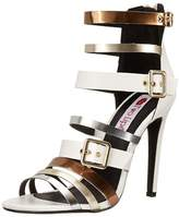Two Lips Womens Viola Open Toe Casual Strappy Sandals.