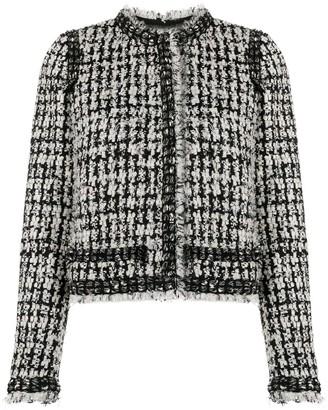 Giambattista Valli Fitted Tweed Jacket