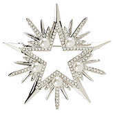 Nadri Jolly Pearl Star Pin