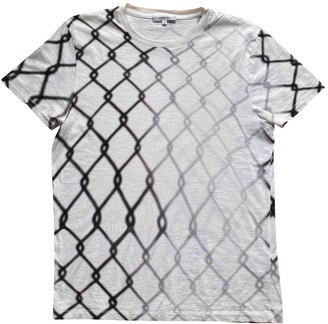Carven White Cotton T-shirts