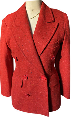 Georges Rech Red Wool Jackets